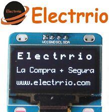 """EL0516 Display OLED 1,30 Blanco IIC I2C Modulo 128x64 1,3"""" LED Arduino 1.30"""