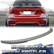 12-15 Painted BMW 3-Series F30 F80 M3 Rear Trunk Spoiler V Style 4D Sedan 320i