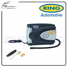 Ring 12v Car Tyre Analogue Gauge Air Compressor Inflator Electric Pump 85w model