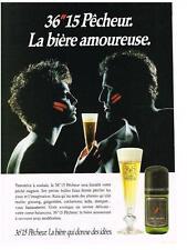 PUBLICITE ADVERTISING  1990   36.15  PECHEUR  bière