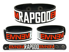 EMINEM Rubber Bracelet Wristband The Marshall Mathers LP 2 Rapgod