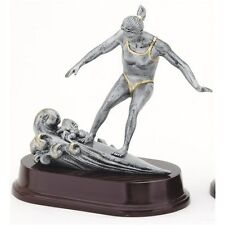 SURFING TROPHY Female Resin Sculpture Trophies FREE Engraving