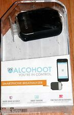 ALCOHOOT SMARTPHONE BREATHALYZER AHT101 BLACK - NEW