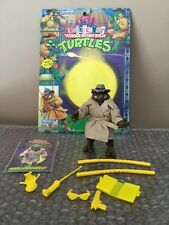 Playmates TMNT Undercover Donatello  real cloth coat 1994 Holy Grail Wow