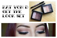 Kat Von D Get The Look Set Limited Edition eyeliner 2 eye shadow palette value