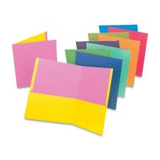 """""""Oxford Twisted Twin Pocket Folder, 100-Sheet Capacity, Assorted"""""""