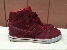 EUC RARE Nike Delta Force High AC Sneakers Red 370424 661 Mens Sz 10.5 EUR 44.5