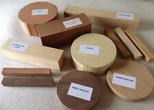 Woodturning Selection Gift Box - Bowl & Square Wood Turning Blanks Gift Box