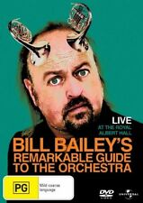 BILL BAILEY'S REMARKABLE GUIDE TO THE ORCHESTRA  * NEW SEALED REGION 4 DVD *