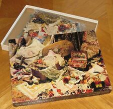 Seams Like Yesterday vtg Springbok Puzzle 500pc Sewing Seamstress assembled