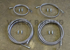 Stainless Main Front & Rear Brake Line Replacement Kit 94-01 Acura Integra DC2