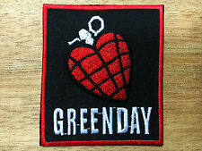 GREEN DAY American Idiot Rock Heavy Metal Band Logo Patch Iron on Jacket