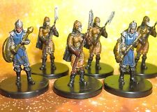 Dungeons & Dragons Miniatures Lot  City Guard Town Guard !!  s108