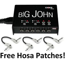 New CIOKS Big John Link Guitar Pedal Power Supply! Free Patches!