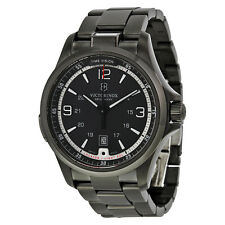NEW VICTORINOX SWISS ARMY MEN'S NIGHT VISION BLACK ICE PVD QUARTZ WATCH 241665