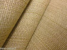 Very thick brown upholstery fabric material - 130cm x 77cm - Strong chair cloth
