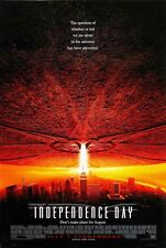 POSTER INDEPENDENCE DAY WILL SMITH ALIEN BIG GRANDE #1