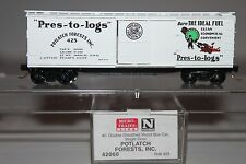 N Scale MTL 42060 Potlatch Forests Inc. 40' Double Sheathed Wood Boxcar 425