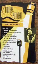 Country Spotlight The Best of Patsy Cline (Cassette, 1991)