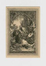 CHRISTNACHT IM WALDE WEIHNACHTEN HOLZSTICH 1885 31
