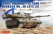 Meng Model 1/35 TS-025 Israel Main Battle Tank Merkava Mk.3D Late LIC