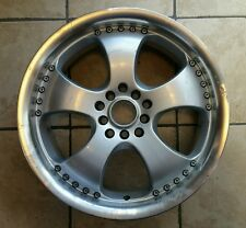 "17"" AD ADVANTI RACING SILVER WHEEL RIM (A)"