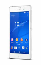 Sony Xperia Z3 D6603 White Smartphone 16GB Memory 20MP SR/BB Unlocked Excellent