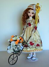 """The Gardens in the Morning"" Dress, Clothes for 18"" Kaye Wiggs MSD BJD"
