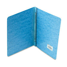 """ACCO Pressboard Report Cover, Prong Clip, Letter, 3"""""""" Capacity, Light Blue"""