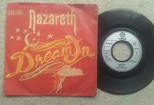 NAZARETH DREAM ON GERMAN COLLECTORS EDITION 7 INCH VINYL SINGLE 1982