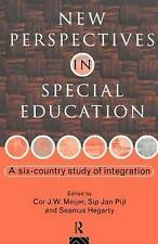 New Perspectives in Special Education: A Six-country Study of-ExLibrary