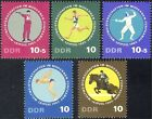 Germany (DDR)1965 Sports/Horses/Pistol Shooting/Fencing/Pentathlon 5v set n44395