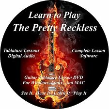 The Pretty Reckless  Guitar TABS Lesson CD 47 Songs + Back Tracks + BONUS
