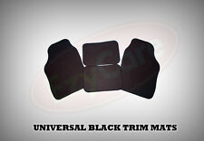 MITSUBISHI L200 SINGLE CAB (2006 ON) UNIVERSAL Car Floor Mats Black & BLACK
