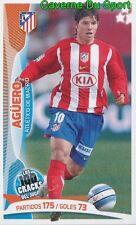 003 AGUERO ARGENTINA ATLETICO  STICKER 100 CRACKS DEL JUGON 2005-2014 PANINI