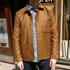VESTE JACKET HOMME CARHARTT FYNN JACKET (hamilton brown rigid) SIZE XS PRICE120€