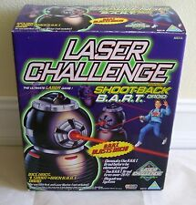 NEW IN BOX 1997 TOYMAX LASER CHALLENGE SHOOT-BACK BART B.A.R.T. DROID 80518