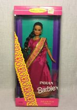Vintage 1995 Mattel Barbie Indian Barbie India Dolls Of The World