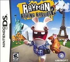 Rayman Raving Rabbids 2 (Nintendo DS, 2007) CART ONLY