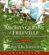 BOOK/AUDIOBOOK CD Amy Dickinson Memoir Essays THE MIGHTY QUEENS OF FREEVILLE