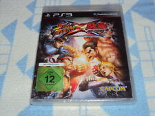 Street Fighter X Tekken (Sony Playstation 3, 2012) NUOVO OVP