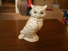 7 in Vintage porcelain owl   Made by Gifts from Around the World Taiwan