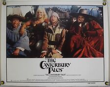 THE CANTERBURY TALES ROLLED ORIG HALF-SHEET MOVIE POSTER PASOLINI RR79 (1971)