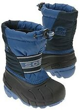 SOREL Kids Cub Blue Snow winter boots for boy size 6 / euro 24 RRP £42