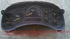 Chevrolet GM Instrument Gauge Cluster Repair Service IPC Chevy Dash Speedometer