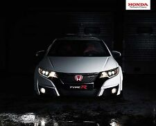 Honda Civic Type R 06 /  2015 catalogue brochure slovaque slovak