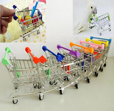 New Parrot Bird Mini Supermarket Shopping Cart Intelligence Growth Training Toy