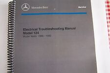 1986 1992 Mercedes 300E 300CE 500e owners Electrical Service w124 part reprint
