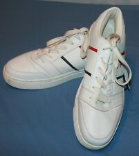 US Polo Assn Sneakers Tennis Shoes Sz 13 Mens White Athletic Leather