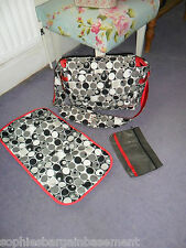 JU JU BE DESIGNER NAPPY CHANGING BAG PUSHCHAIR PRAM SHOULDER BAG BABY JUJUBE